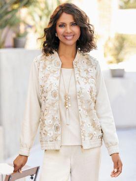 Gilded Glamour Jacket