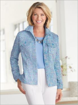 Sunday Brunch Tweed Jacket