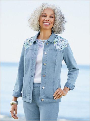 Slimtacular® De-Luxe Denim Jacket - Image 1 of 1