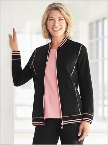Sport Tipped Jacket by D&D Lifestyle™ - Image 0 of 1