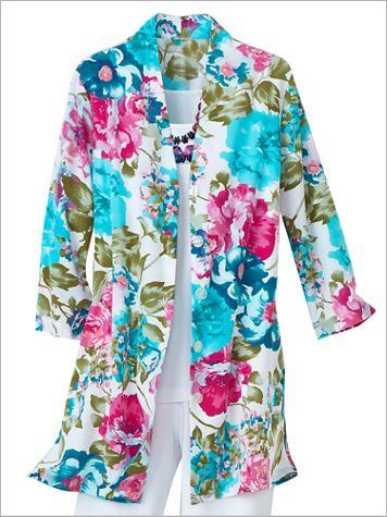 Cabbage Rose Shirt - Image 2 of 3