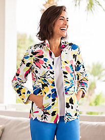 Flower Power Jacquard Jacket
