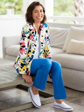 Flower Power Jacket & Comfort Stretch Pants