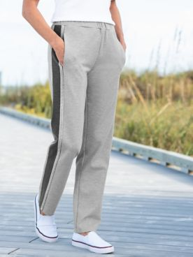 D&D Lifestyle™ Glam Leisure Knit Pull-On Pants
