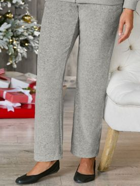 Velour Pull-On Pants by Alfred Dunner