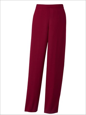 Alfred Dunner Mélange Pull-On Pants - Image 2 of 2