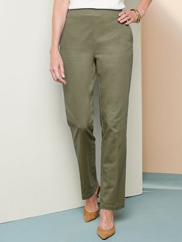Comfort Stretch Pull-On Pants - Image 1 of 8