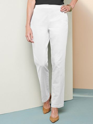 Comfort Stretch Pull-On Pants - Image 1 of 5