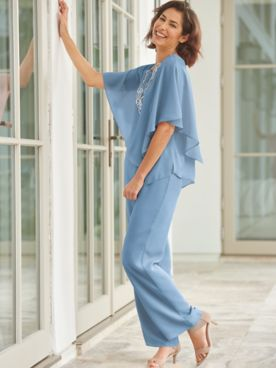 Special Occasion Flirty Pant Set