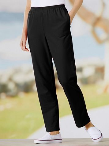 Alfred Dunner French Terry Pull-On Pants - Image 1 of 2