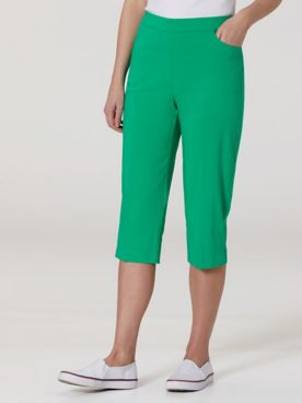 Alfred Dunner Solid Capris