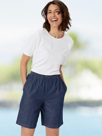 Everyday Denim Shorts - Image 2 of 3
