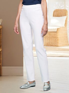 Stretch Knit Denim Jeans