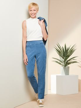 Knit Cord Pants