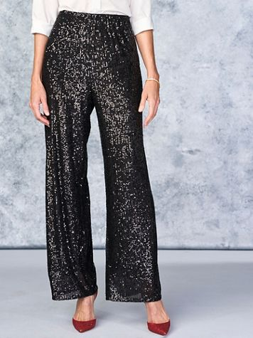 Sequin Pants by Alex Evenings - Image 2 of 2