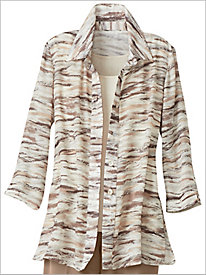 Brushstroke Stripe Shirt