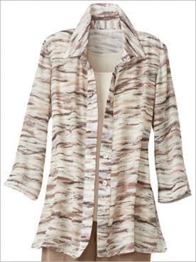 Brushstroke Stripe Shirt