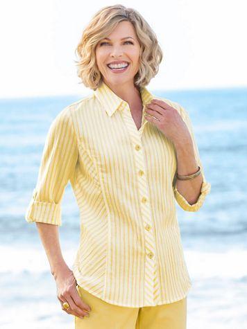 Del Mar Derby Stripe Shirt - Image 1 of 4