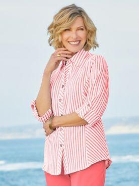 Del Mar Derby Stripe Shirt