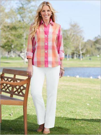 Sunrise Plaid Shirt & Classic Comfort® Pants