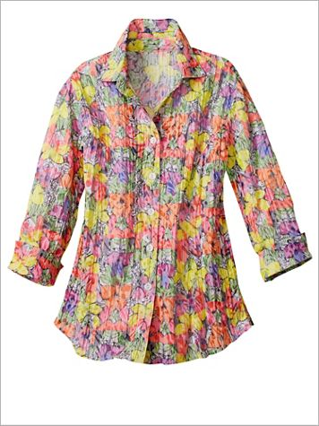 Butterfly Crinkle Shirt - Image 1 of 1