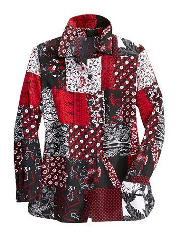 Pop Art Long Sleeve Big Shirt - Image 1 of 1