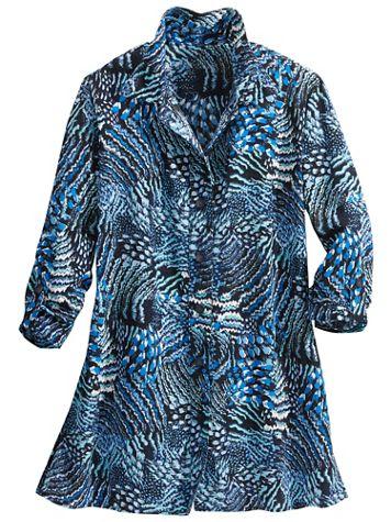 Seascape 3/4 Sleeve Shirt - Image 2 of 2