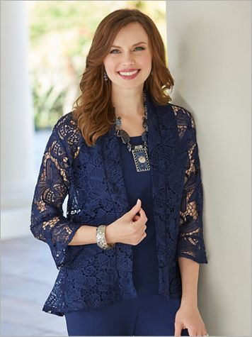 Butterfly Lace Jacket - Image 4 of 5