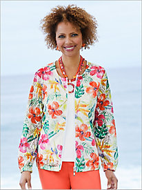 Honolulu Hibiscus Jacket