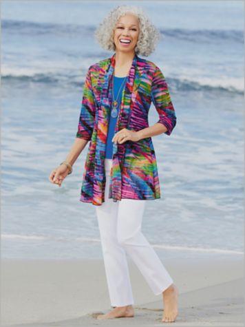 Sedona Sunset Mesh Jacket & Slimtacular® Ultimate Fit Pants