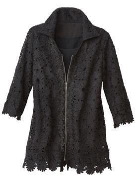 Daisy Lace Jacket