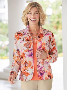 Artisan Floral Jacket