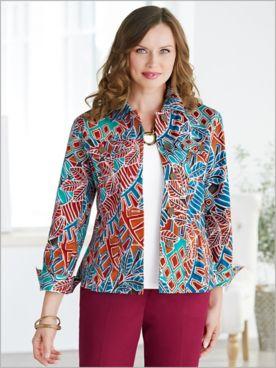 Mayan Mosaic Jacket