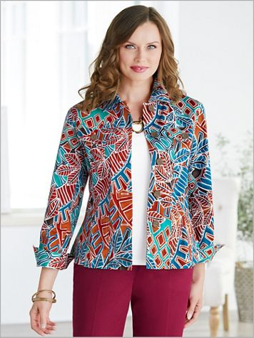 Mayan Mosaic Jacket - Image 3 of 3
