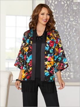 Over The Rainbow Kimono