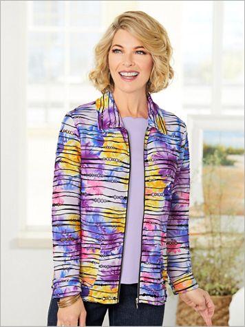 Pretty Posy Textured Jacket - Image 2 of 2