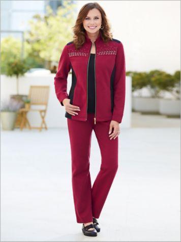 Marvelous Melange Jacket & Pants by D&D Lifestyle™