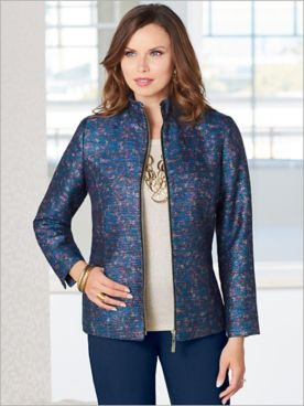Monet Metallic Jacket