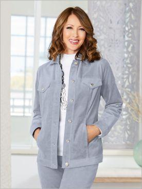 Slimtacular® Cord Jean Jacket