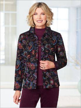 Tapestry Chenille Jacket