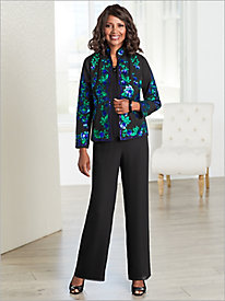 Serendipity Sequin Jacket & Georgette Separates
