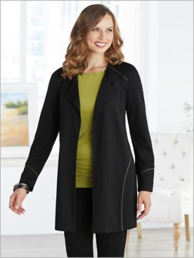 Chartreuse Collection Ponte Jacket by Picadilly