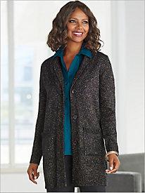 Modern Marled Sweater Jacket