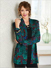 Jewel Box Textured Jacket