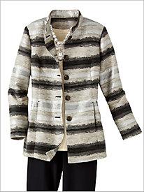 Gemstone Jacquard Jacket