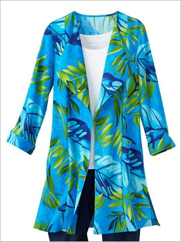 Palm Paradise Duster Jacket - Image 2 of 2