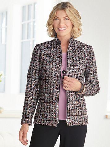 Truffle Tweed Jacket - Image 2 of 2