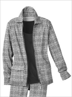 Slimtacular® Sketch Print Jacket