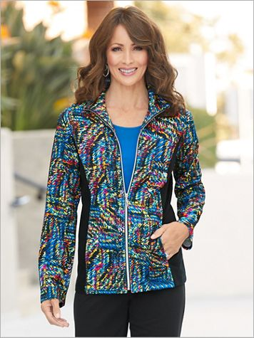 Sporty Spectrum Jacket by D&D Lifestyle™ - Image 1 of 2