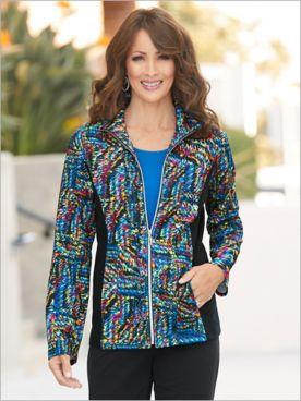 Sporty Spectrum Jacket by D&D Lifestyle™